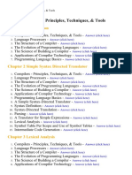 Compilers Principles, Techniques, & Tools - Lecture Notes, Study Material and Important Questions, Answers
