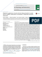 Exogenous Application of Pectin Derived