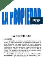 DERECHOS REALES - CAPITULO III - LA PROPIEDAD.ppt