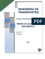Trenes - MAGLEV (Levitacion_magnetica)