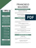 CV Paco Saucedo 2018