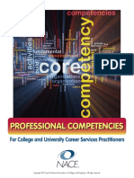 Career Services Competencies