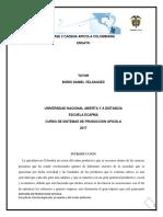 Fase 2-Trabajo Colaborativo Cadena Apicola Colombiana Ensayo