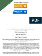 Profecias Edgar Cayce PDF