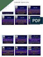Pioneiros Adventistas - Citações e Imagens