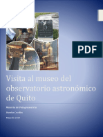 Informe de Visita Al Observatorio Astronomico de Quito_Cevallos Jhoselyn