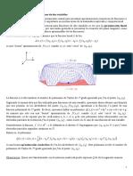 Polinomios de Taylor Para Funciones de 2 Variables