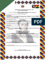 Ordenanza Municipal Nº 034 - - - - - Declarece Ministr