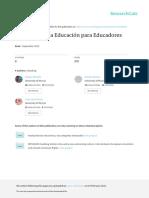 Ejercicicios Sociología de la para Educadores