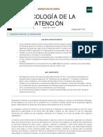 PSICOLOGÍA DE LA ATENCION