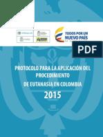 Protocolo Aplicacion Procedimiento Eutanasia Colombia