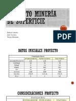 PROYECTO MINERÍA SUPERFICIE