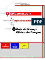 Guia Manejo Clinico de Dengue. Version 2015