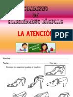 Cuaderno Habilidades Atencion