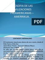 Filosofia de Las Civilizaciones Preamericas- Amerrikua