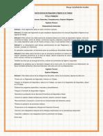 Reglamento General de Seguridad e Higiene en El Trabajo