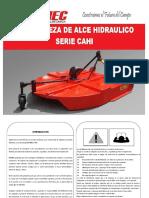 Manual Cortamaleza Cahi