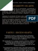 ESCENOGRAFÍA - AMBIENTACIÓN - UTILERÍA