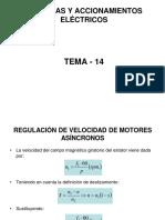 TEMA14 MAQ.elecTRICASRegulacion Velocidad
