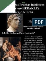 HÉRCULES - Las Heroicas Pruebas Iniciaticas del Glorioso HERAKLES , Coraje de León