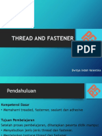 Thread and Fastener Ppt