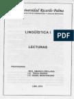 Linguistica I Lecturas