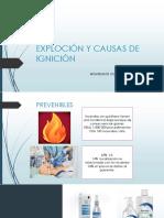 EXPLOCIONES Y CAUSAS DE IGNICIÓN  EN QUIROFANO