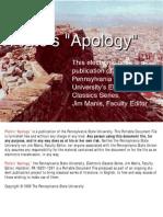 """Plato's """"Apology"""""""