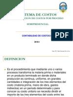 SEMANA N°02 - COSTOS POR PROCESO