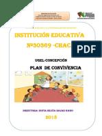 PLAN DE CONVIVENCIA I.E.N°30369 CHACA 2018