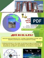 GPS  Y SUS APLICACIONES EN LA ING.ppt