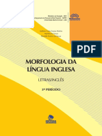 Caderno Didatico Morphology