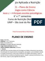 AULA 1- A Psicologia Como CiÊncia