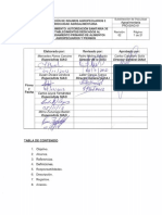 Pro Siag 01. Procedimiento Autorización Sanitaria de Establecimientos Dedicados Al Procesamiento Primario de Alimentos Agropecuarios y Piensos. Revisión 02
