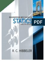 Engineering Mechanics - Statics, R.C. Hibbeler, 12th Edition