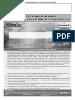 Cespe 2013 Segesp Al Todos Os Cargos Conhecimentos Basicos Perito Criminal Prova