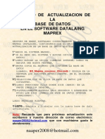 Instalacion Base Datos Maprex