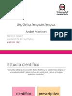 Lingüística Martinet
