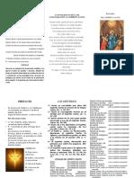 Acto de Donación y de Consagración Al Espíritu Santo