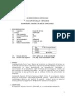 Sílabo Desarrollo de Tesis 2018-I