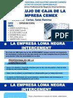 Flujo de Caja de La Empresa Cemex