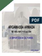 MANUAL Argamassa Armada