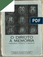 Livro Direiro à Memória