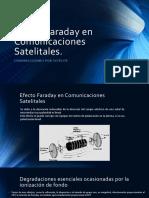 Efecto Faraday en Comunicaciones Satelitales