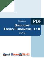 TRILHAS F1 F2 Manual Simulados 2018 Enviado Dia 21 de Fevereiro