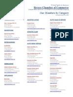 Revere Chamber Membership Directory SEP 2010