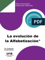 LR_La Evolucion de La Alfabetizacion