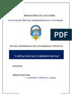 Cohesión Social - Etica