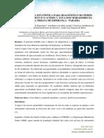 Utilização da estatística e perfil socioeconômico dos moradores da zona urbana de esperança-PB