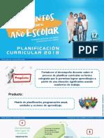 Planificación Curricular 2018 Matemática
